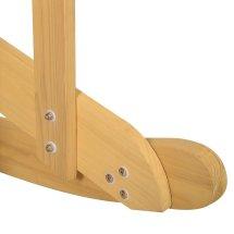 Giantex Outdoor Natural Fir Wood Adirondack Rocking Chair