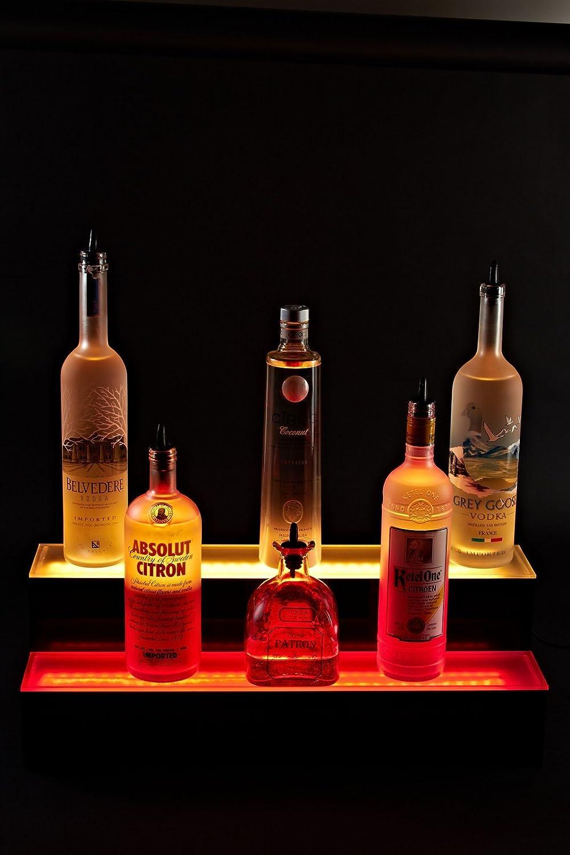Armana Acrylic New 6 39 2 Step Tier Led Lighted Liquor