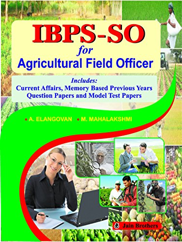 IBPS-SO for Agricultural Field Officer