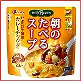 【冷蔵】【10袋】フジッコ 朝のたべるスープ 200g (ひよこ豆のカレーチャウダー)