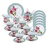 Antiquated Rose Deluxe Tea Set