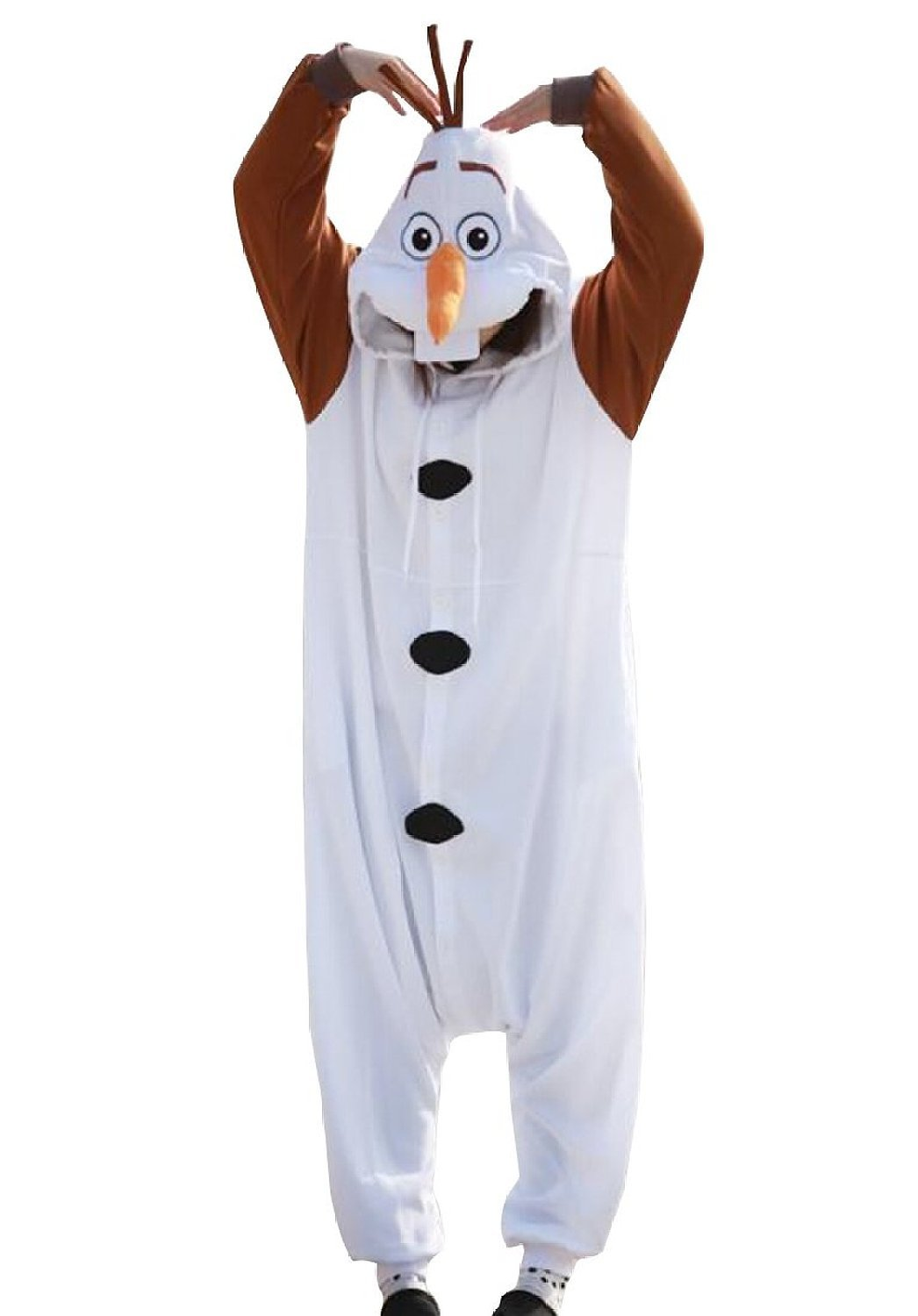 Frozen Olaf Adult Kigu Costume For Men and Women