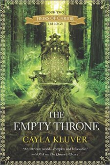 The Empty Throne (Heirs of Chrior) by Cayla Kluver| wearewordnerds.com