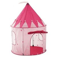 NEW Girl`s Pink Princess Castle Play Tent by Pockos