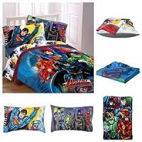 Amazon.com - DC Comics Justice League 5 Piece Bed in a Bag ...