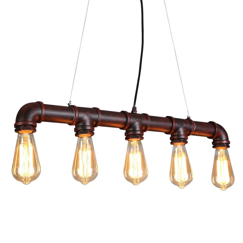 60 inch kitchen island countertops michigan onepre industrial steampunk ceiling pendant light ...
