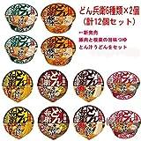 日清食品 どん兵衛 西 シリーズ 6種類×2個(12食) Bセット
