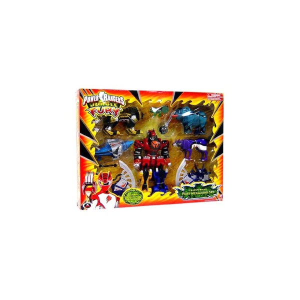 Power Rangers Jungle Fury Deluxe Transforming