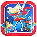 DC Super Hero Girls Small Paper Plates (8ct)