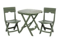Table and Chair Set Outdoor Patio Furniture Folding Seat ...