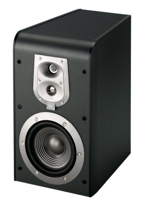 Pair Jbl Es20 High Performance 3 Bookshelf Speakers Black Bass Reflex