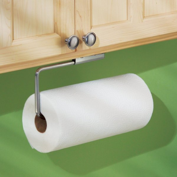 Interdesign Swivel Wall Mount Paper Towel Holder Brushed Stainless Steel