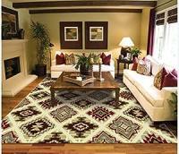 Blue Living Room With Brown Furniture | Car Interior Design
