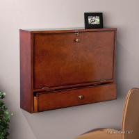 Amazon.com - SEI Wall Mount Laptop Desk, Brown Mahogany ...