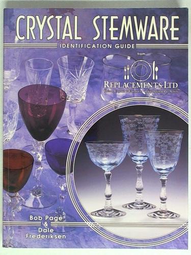 Crystal Stemware Identification Guide Bob Page Dale