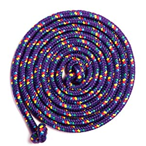 Purple Confetti 8' Jump Rope