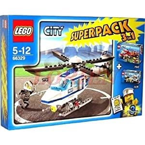 LEGO® CITY 66329 SUPERPACK 7741 + 7942 + 7236