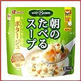 【冷蔵】【10袋】フジッコ 朝のたべるスープ 200g (白いんげん豆のポタージュ)