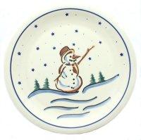 Snowman Christmas Dinner Plates | Christmas Wikii