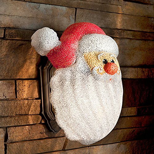 Santa Porch Light Cover