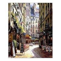 Beautiful Modern Art Watercolor Painting Rich Retro Small ...
