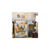 SoHo Noah Ark Baby Crib Nursery Bedding 10 Pcs SET ...