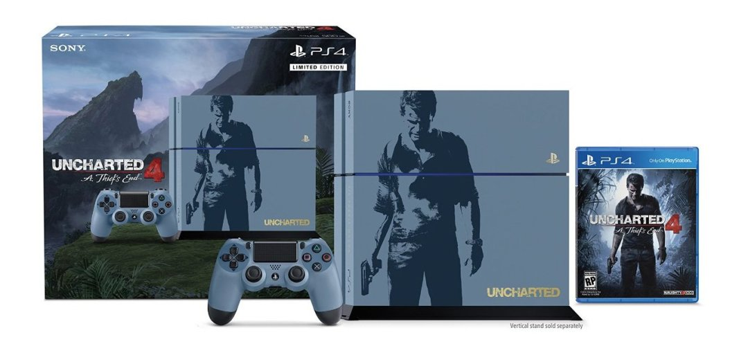 Uncharted 4: A Thief's End Limited Edition PS4 Bundle Revealed 1