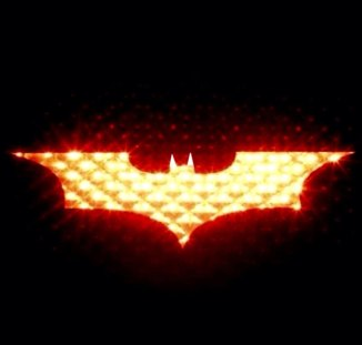 Bat signal brake light