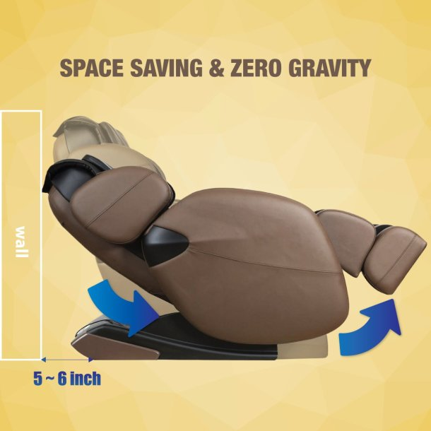 kahuna massage chair space saving