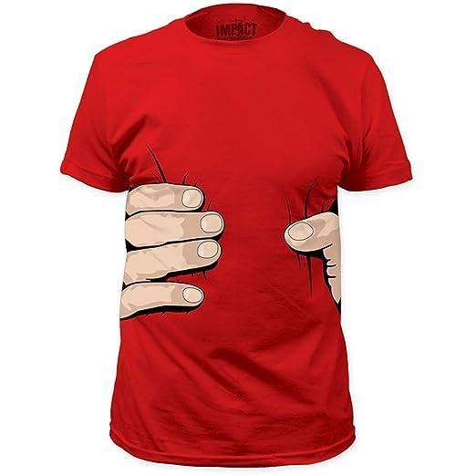 Impact Originals Giant Hand Mens Red T-shirt S