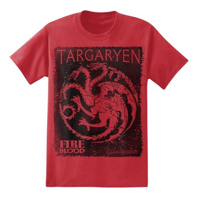 Game of Thrones - Targaryen Fire and Blood - T-Shirt