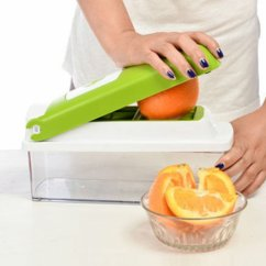 Kitchen Dicer Slicer Aid Service Nicer Multi Chopper Vegetable Cutting Dicing Slicing