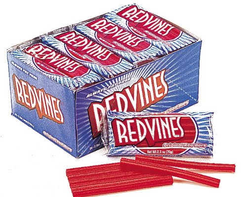 red vines 2 5 ounce bags pack of 24 food beverages tobacco