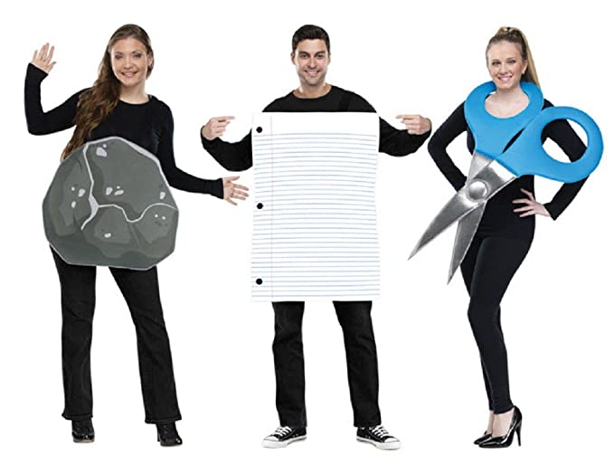 Rock Paper Scissors Adult Coup