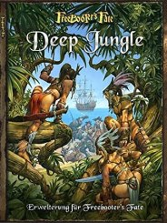 Freebooters Fate, FF, Deep Jungle, Regelwerk, Rezension, Regelbuch, Buch, Amazonen