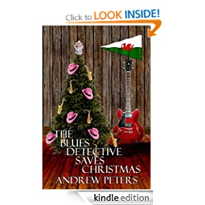 Cover of The Blues Detective Saves Christmas