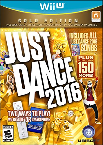 Just Dance 2016 (Gold Edition)  Wii U