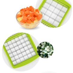 Kitchen Dicer Slicer Countertop Repair Kit Nicer Multi Chopper Vegetable Cutting Dicing Slicing
