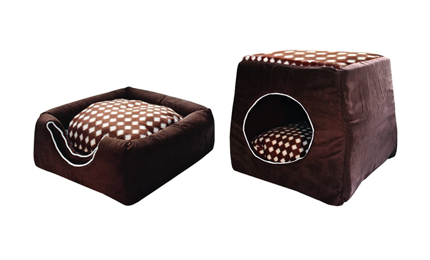 most durable sofa fabric for cats pillow ideas leather convertible 2 in 1 pet bed house dog cat folding portable