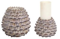 Christmas Pine Cones Candle Holders | Christmas Wikii