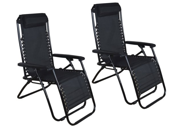 Great 4 double zero gravity chairs - TMS