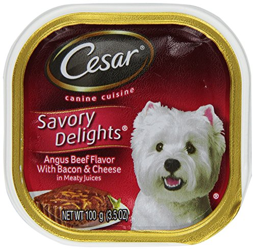 Cesar 24Pack Savory Delights Canine Cuisine Angus Beef