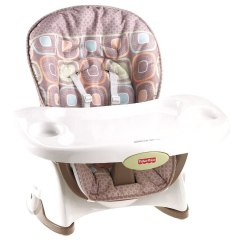Fisher Price Booster High Chair Wedding Covers Preston Coco Sorbet Space Saver Ebay