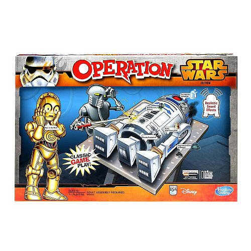 Hasbro Operation Game Star Wars Edition by Hasbro