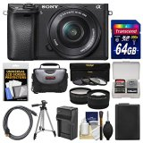 Sony-Alpha-A6300-4K-Wi-Fi-Digital-Camera-16-50mm-Lens-with-64GB-Card-Case-Battery-Charger-Tripod-3-Filters-Kit