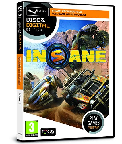 Insane 2 (PC CD & Steam Key) (輸入版)(UK Account required for online content)