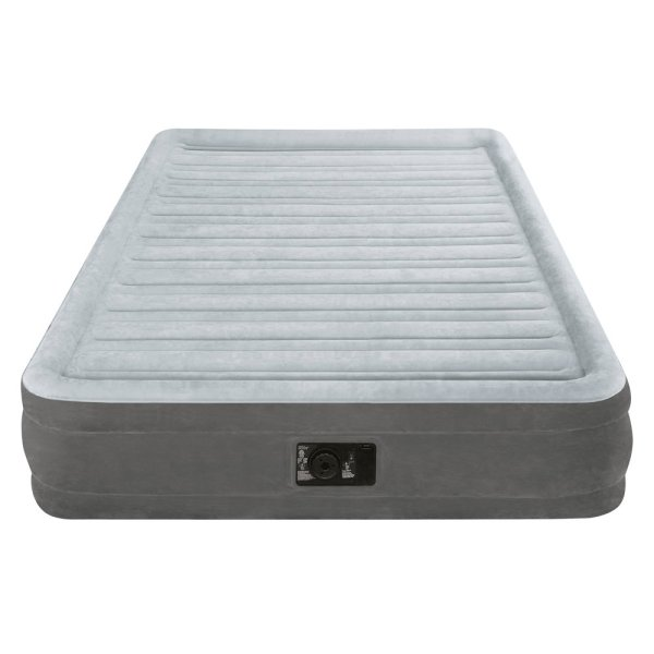 Intex Inflatable Airbed Full Size Built In Electric Pump