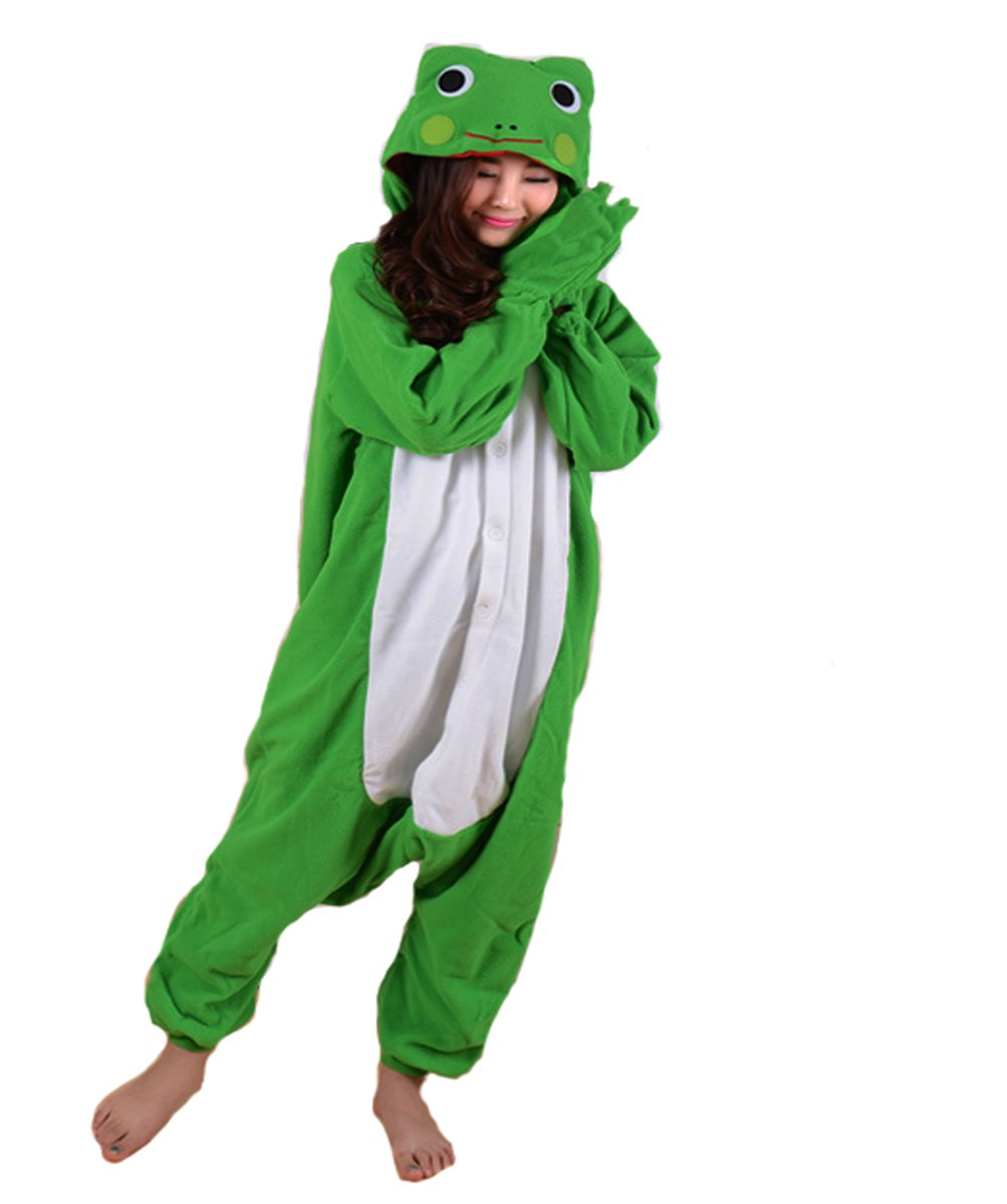 SAMGU Pajamas Anime Costume Adult Animal Onesie Frog Cosplay