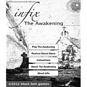 infix: The Awakening (Interactive Fiction for Kindle) by black belt games