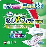 サルバ安心WフィットM テープ 28枚入【ADL区分:寝て過ごす事が多い方】